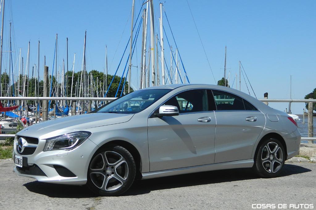 Test del Mercedes-Benz CLA 200 - Foto: Cosas de Autos