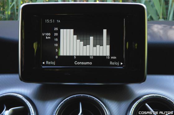 Test de Mercedes-Benz CLA - Foto: Cosas de Autos