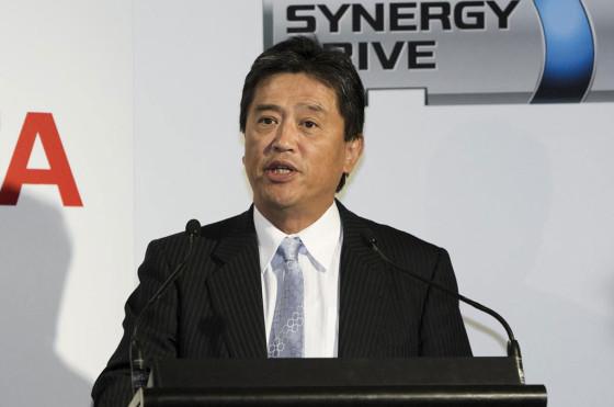 Max Yasuda, presidente de Toyota Australia