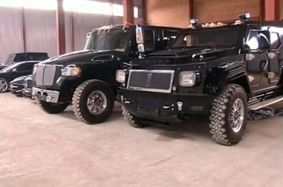 Colección de autos de Viktor Yanukovych en Ucrania