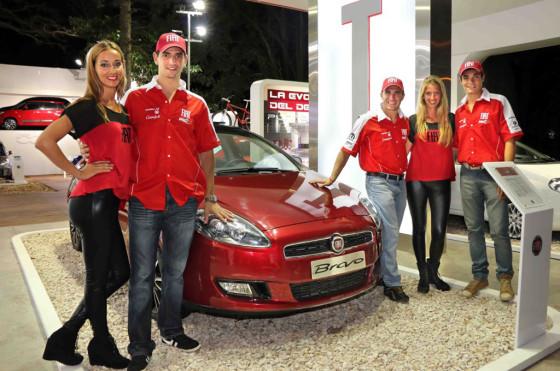 Verano 2014: los pilotos de Fiat STC2000 en Pinamar
