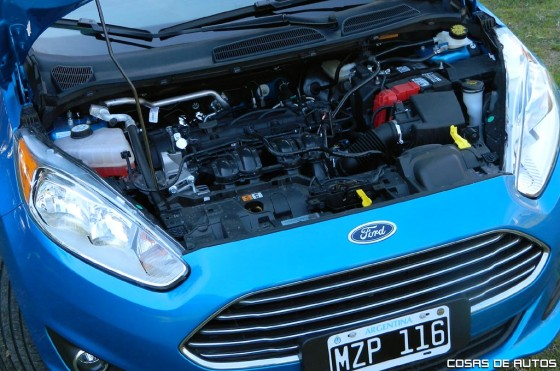 Motor del Ford Fiesta KD