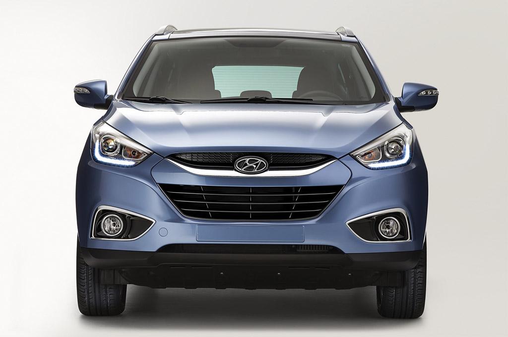 Argentina Hyundai Ya Ofrece El Tucson Facelift Redise 241 O
