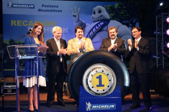 Michelin Argentina inauguró en Misiones una nueva planta de recapado