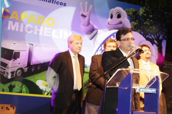 Antonio Mello, presidente de Michelin Argentina