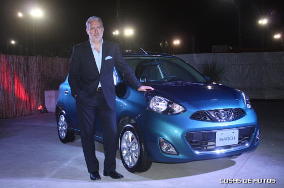 Juan Deverill, director comercial de Nissan Argentina
