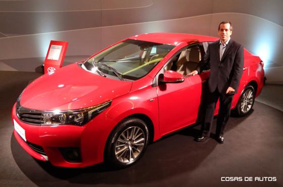 Gustavo Salinas, Director Comercial de Toyota Argentina.,
