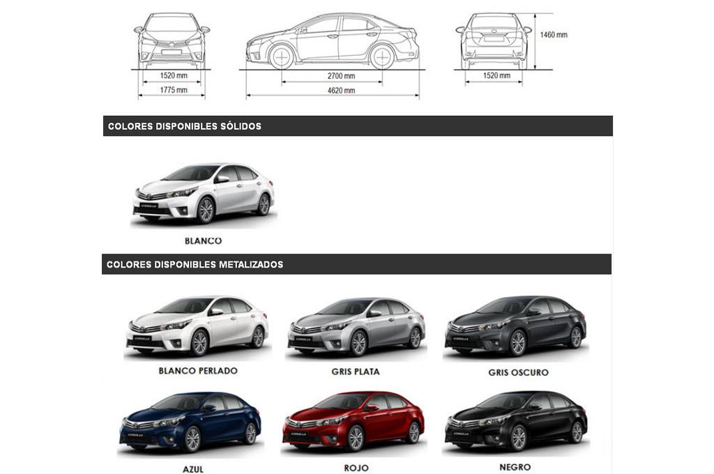 Precios Toyota Corolla 2014 Com Ar | Autos Weblog