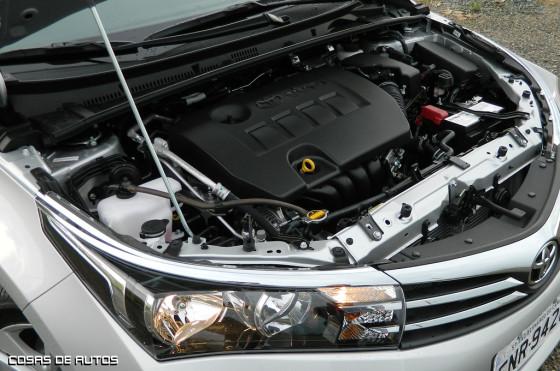 Motor del Nuevo Corolla
