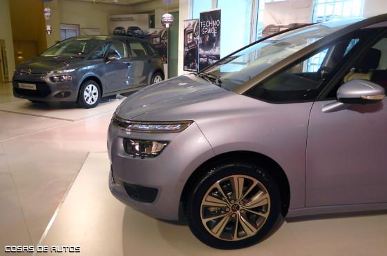 Citroën presentó los nuevos familiares C4 y Grand C4 Picasso