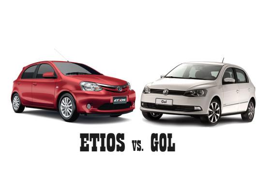 Etios vs Gol