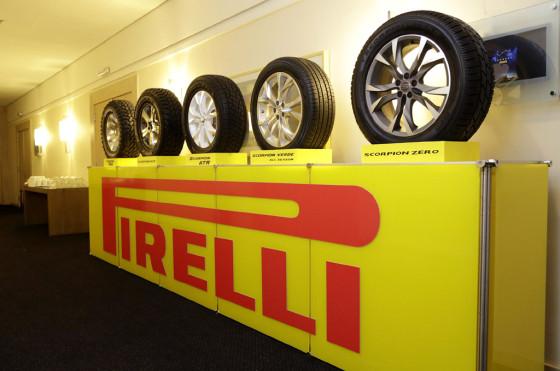 Familia de productos Scorpion de Pirelli
