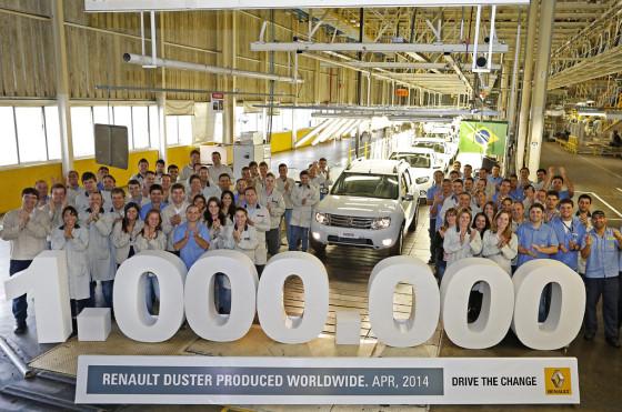 Renault Duster unidad un millón