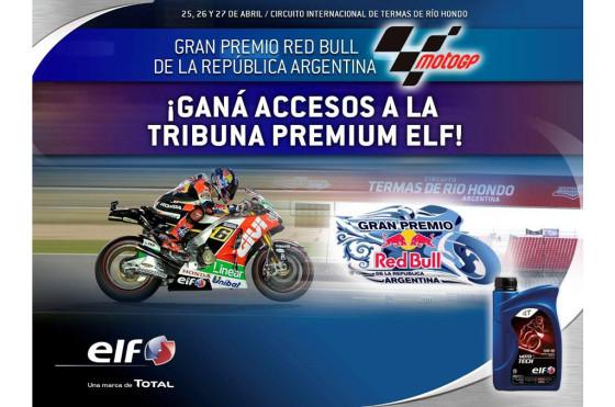 Se viene el Moto GP de Argentina y ELF sortea entradas