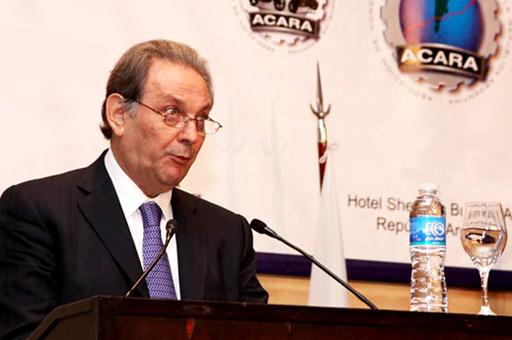 Dante Álvarez, vice-presidente de ACARA