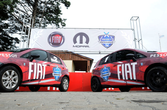Fiat se suma a Driver's Experience, la escuela de manejo de Oreste Berta