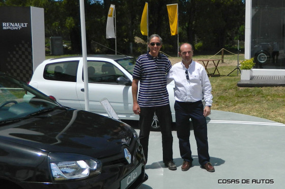 Gustavo Fosco y Fernando Sánchez Gentile de Renault Argentina.