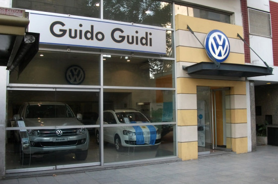 Guido Guidi, concesionario VW