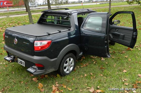 Nueva Fiat Strada 3 Puertas