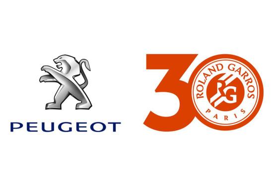 30 años de Peugeot junto a  Roland Garros