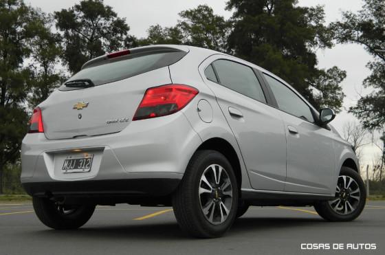 Test del Chevrolet OniX LTZ - Foto: Cosas de Autos