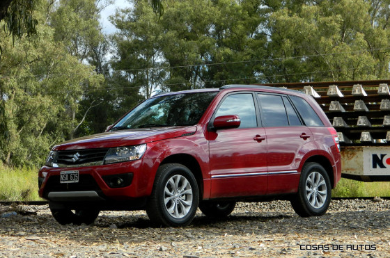 Test Suzuki Grand Vitara - Foto: Cosas de Autos