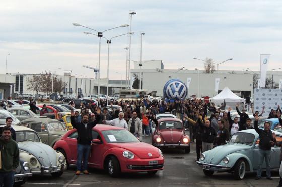 VW Argentina celebró en Pacheco el Día Mundial del Escarabajo