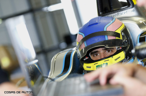 Cochito López en el Fórmula E
