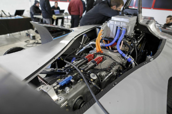 Las entrañas de un Fórmula E