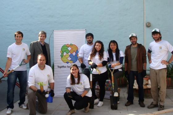 RSE: Honda Argentina llevó a cabo una jornada de voluntariado en Vicente López