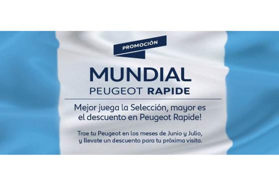 Posventa: Peugeot lanza descuentos de hasta el 30% durante el Mundial