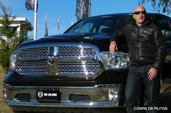 Lucas Ramírez, gerente comercial de Chrysler Argentina.
