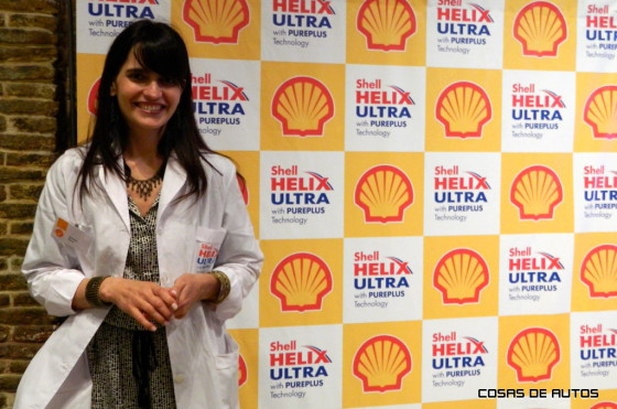 Verónica Elorza, Gerente de Marketing de Shell Lubricantes para Argentina