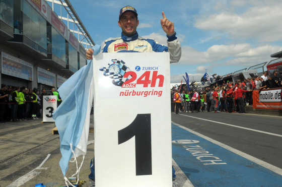 Histórico triunfo de Juan Manuel Pato Silva en las 24 Horas de Nürburgring