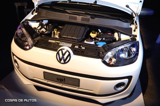 Motor del Volkswagen up!