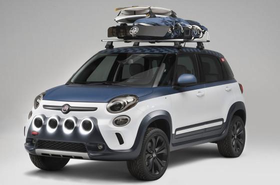 Fiat presentó el 500L Concept-Vans