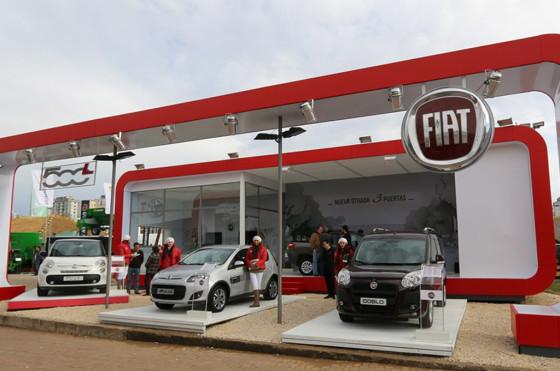 Fiat está presente en la edición 2014 de la Exposición de Ganadería, Agricultura e Industria