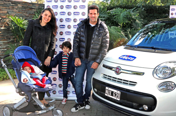 """La marca infantil Chicco se une a Fiat Auto Argentina en su campaña """"Bebé"""""""