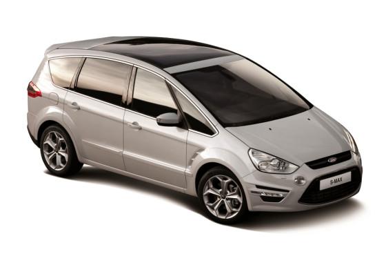 Autos y golf: el S-Max, protagonista del Primer Major Series del Ford Kinetic Design Golf Invitational