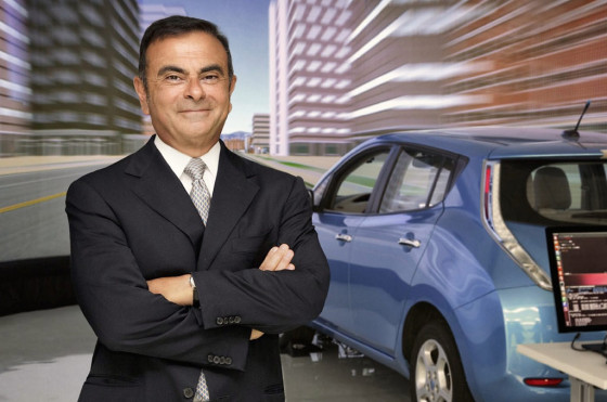 Carlos Ghosn, CEO de Nissan