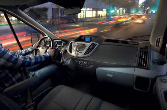 Interior de la Nueva Ford Transit