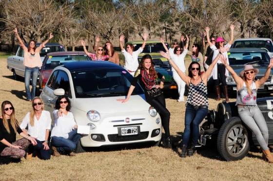 """""""Rally de las Princesas Copa Fiat"""" en El Refugio"""