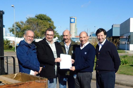 RSE: GM donó motores al Centro de Formación Profesional de Rosario