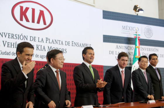 Kia invierte en México para levantar su primera planta desde la que abastecerá a toda América