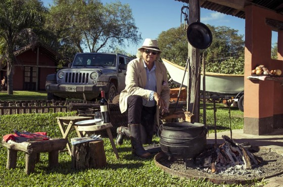 "Jeep presenta ""Misterios del Iberá"" con Francis Mallmann"