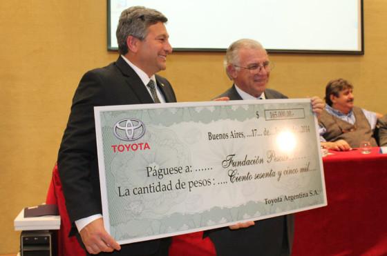 RSE: Toyota realizó una importante contribución a la Fundación Pescar