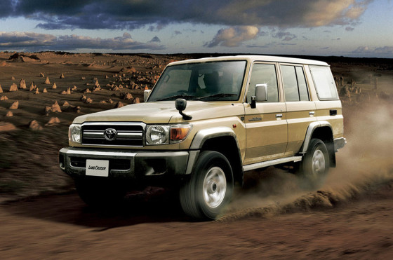 Land Cruiser 70 30 Aniversario