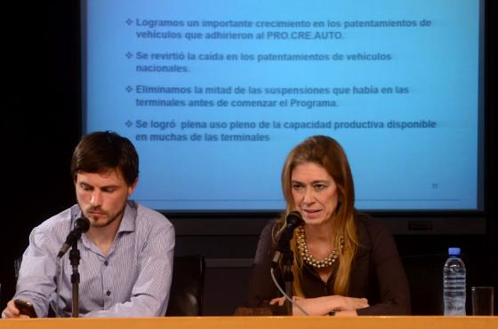 Giorgi y Costa presentaron la Fase2 del ProCreAuto