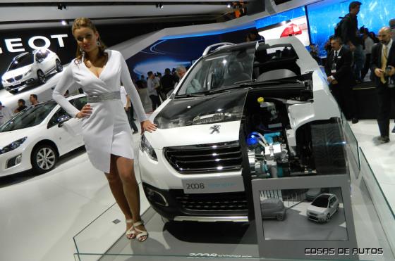Peugeot 2008 Hybrid Air en el Salón de San Pablo