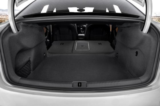 Baúl del Audi A3 Sedán